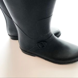 Capelli of New York Shoes - Capelli of New York Tall Black Matte Rain Boots
